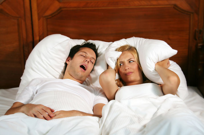 Snoring and Grinding Teeth? Bad Combination!