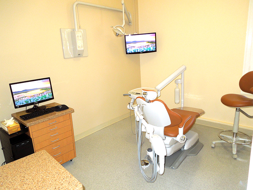 relaxed enviroment in dentist Pasadena