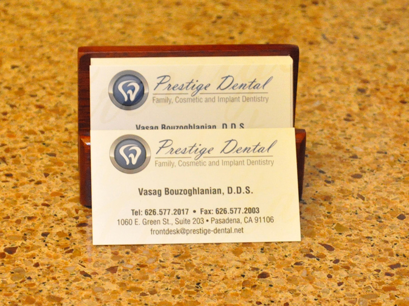 Prestige Dental cards